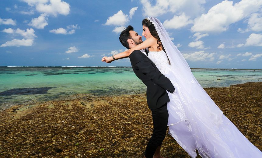 great places to have a wedding photoshoot in bali