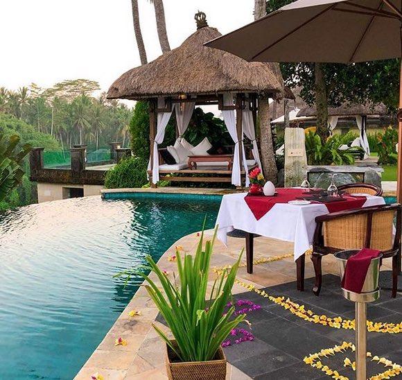 honeymoon in bali - cascades ubud
