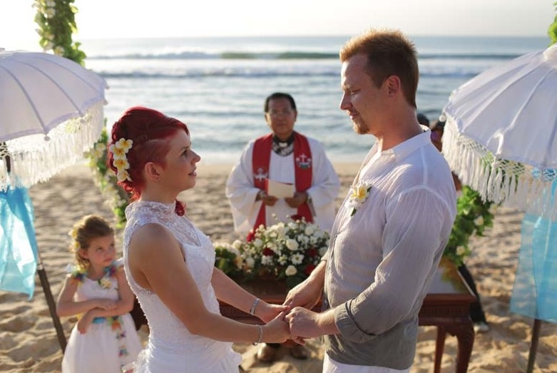 how to have a committment ceremony in bali