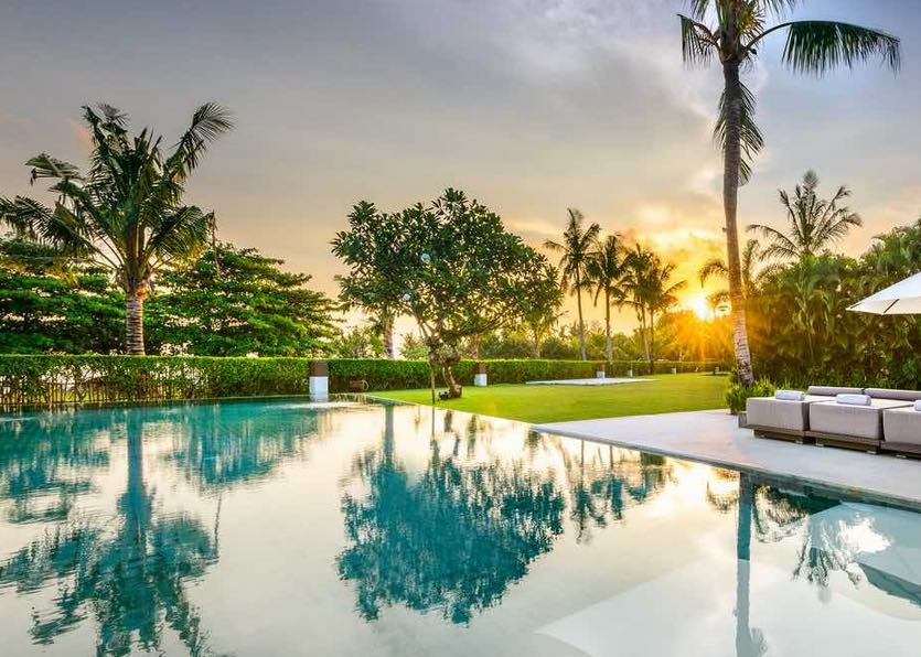 Shalimar villas in Canggu weddign villas on the beach bali
