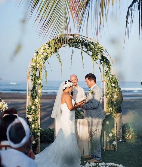 best bali beach wedding villas - villa pushpapuri sanur