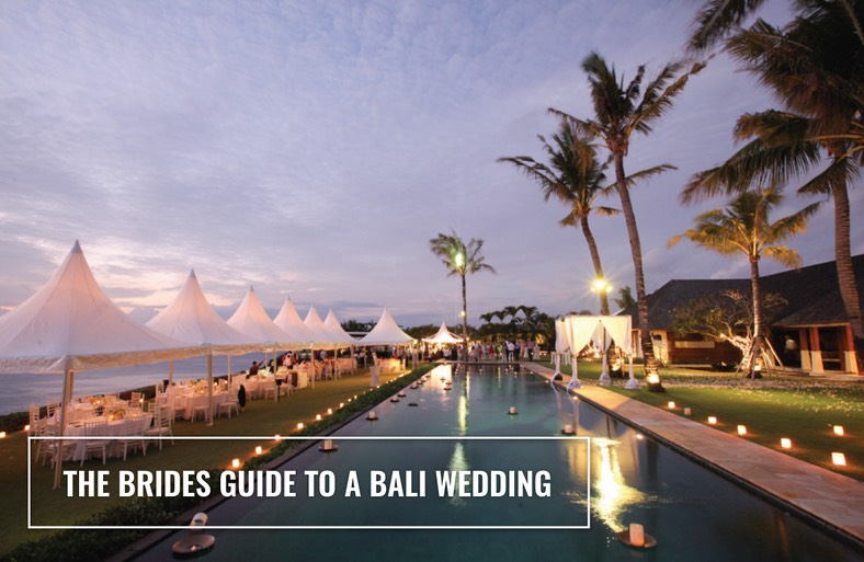 bali brides guide to bali weddings