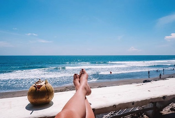 places to chill out in bali after your wedding - la brisa canggu