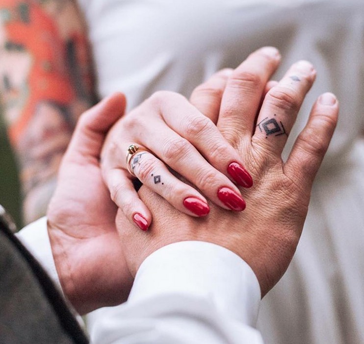 wedding tattoo ideas for bali brides