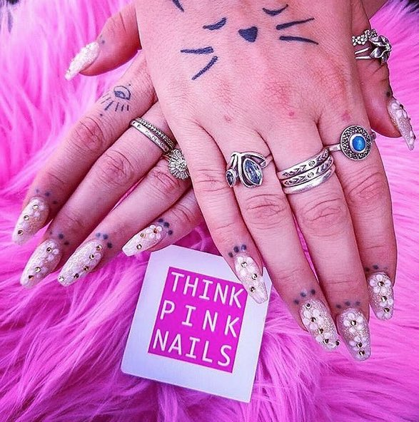 think pink nails 9 best day spas in Seminyak for the girls