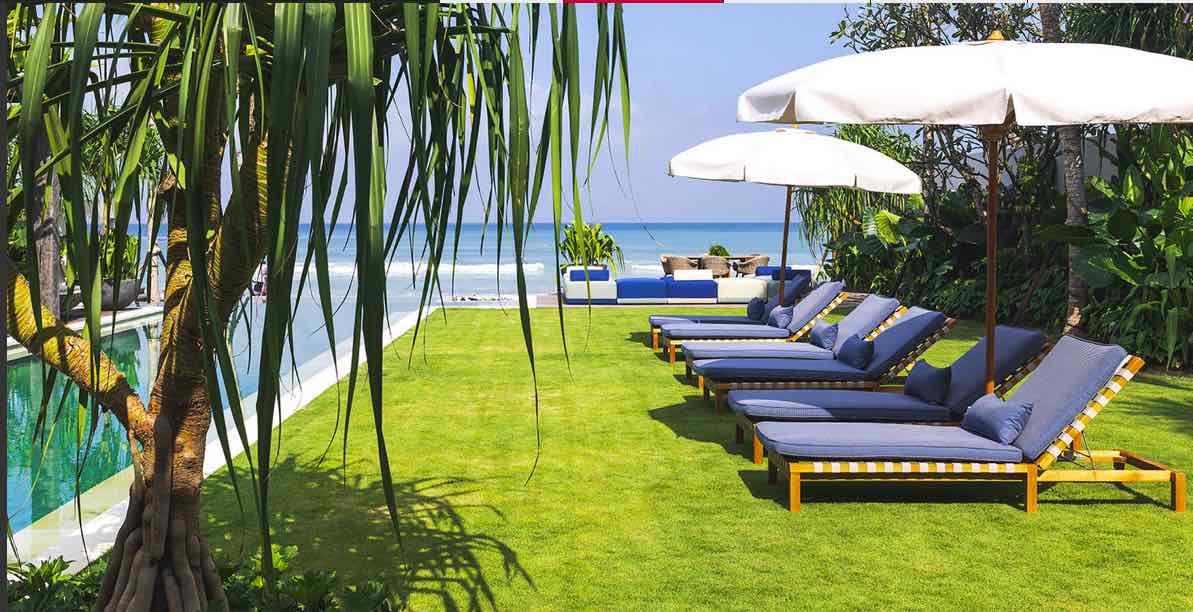 Noku Beach House wedding villa bali