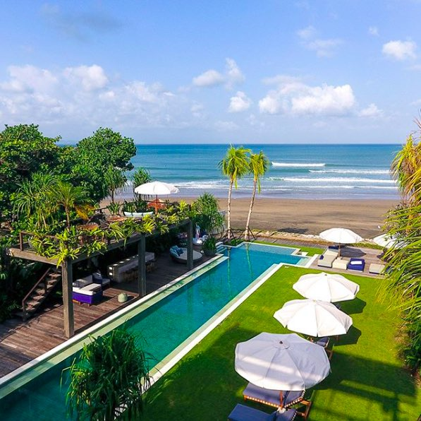 Noku Beach House wedding villa bali