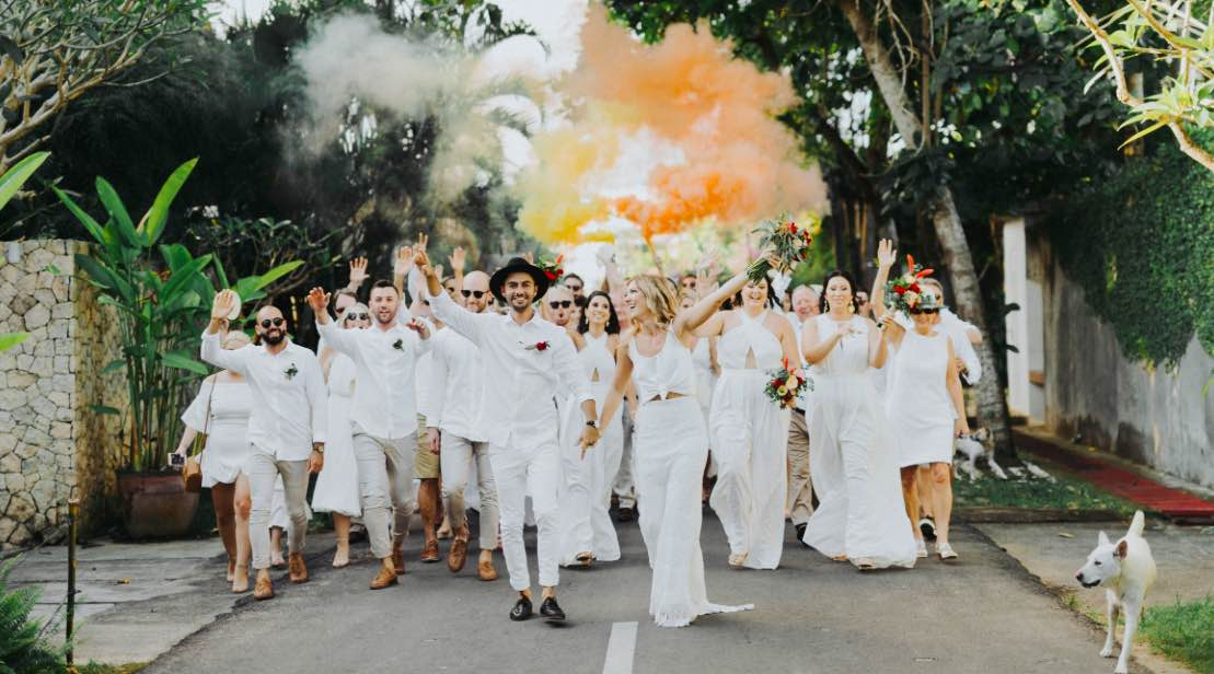 clare & nathan wedding in bali