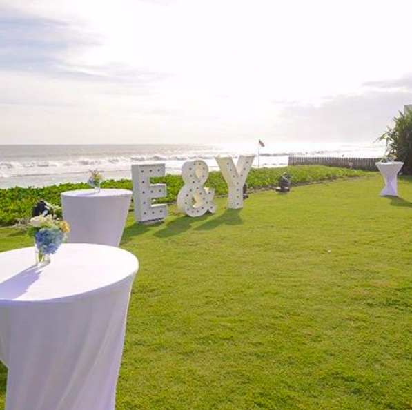 villa phalosa bali beach wedding venue