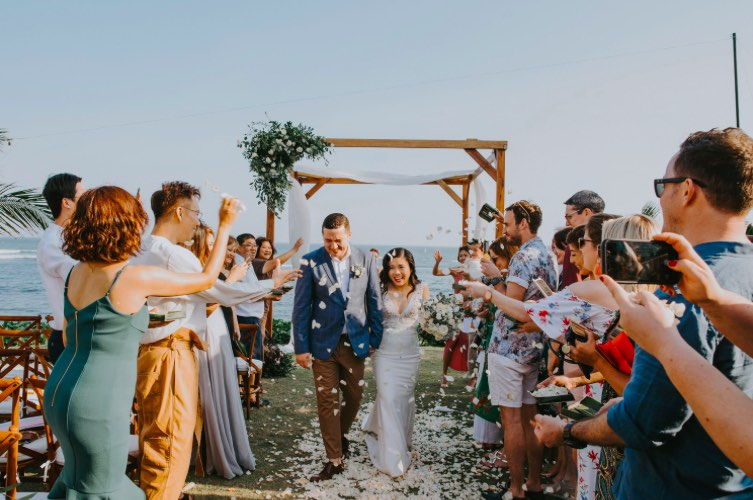 Phoebe & James Bali wedding